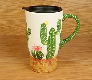 Carmel Cactus Travel Mug