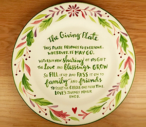 Carmel The Giving Plate