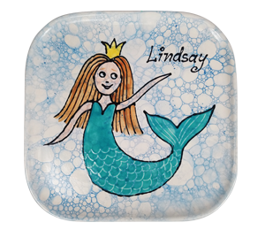 Carmel Mermaid Plate