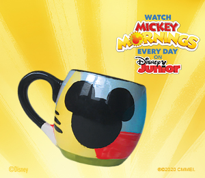 Carmel Mickey's Bubble Mug